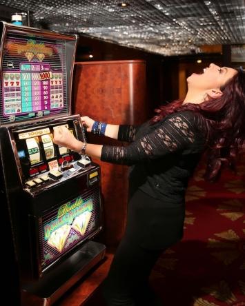 Casino Happy Woman